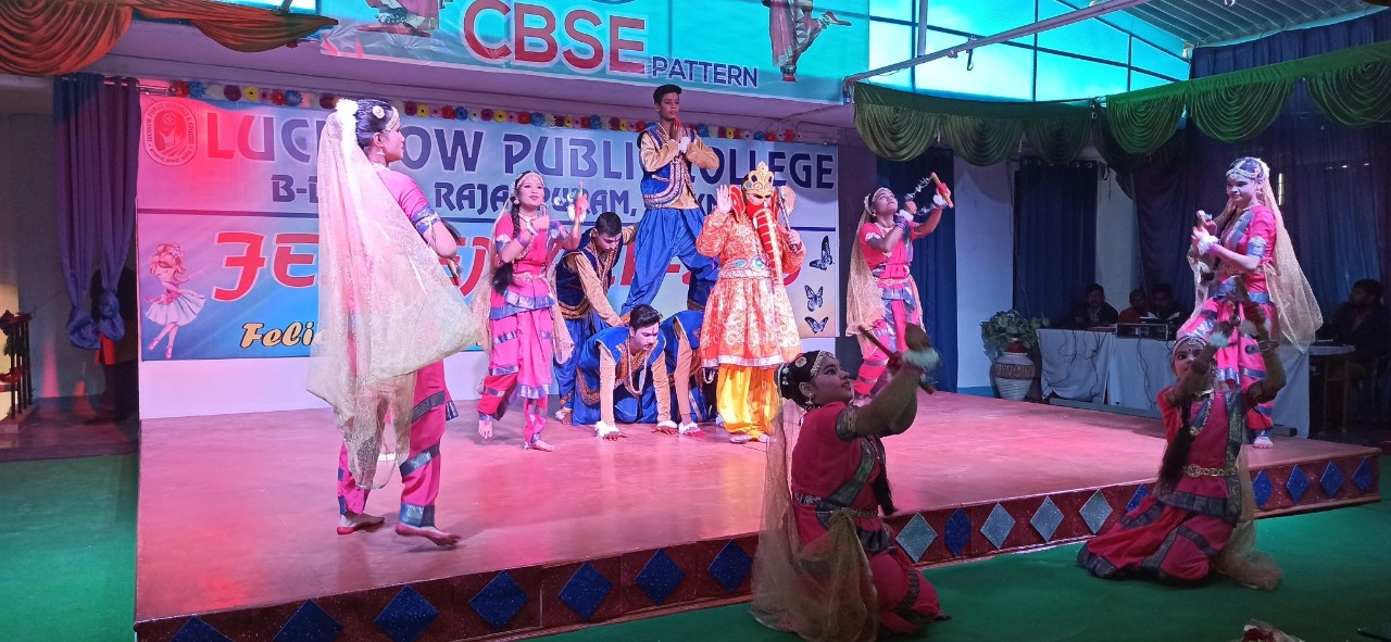 EXTRAVAGANZA ,THE ANNUAL FEST AT LPS ANAND NAGAR BRANCH